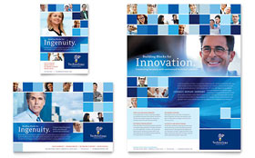 Technology Consulting & IT - Flyer Template