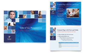 Technology Consulting & IT - Microsoft PowerPoint Template