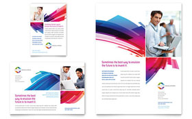 Software Solutions - Flyer & Ad Template Design Sample