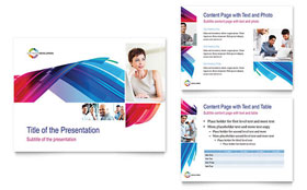 Software Solutions - PowerPoint Presentation Template Design Sample