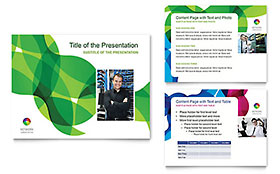 Network Administration - PowerPoint Presentation Template