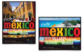 Mexico Travel - Poster Sample Template