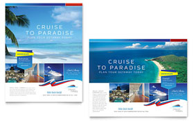 Cruise Travel - Poster Template Design Sample