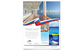 Cruise Travel - Flyer Template