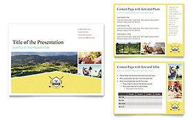 Golf Resort - PowerPoint Presentation Template