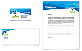 Fishing Charter & Guide - Business Card & Letterhead Template