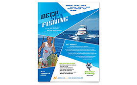 Fishing Charter & Guide Flyer