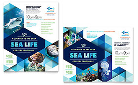Ocean Aquarium - Poster Sample Template