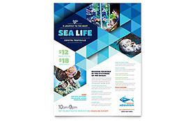 Ocean Aquarium Flyer