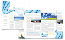 Renewable Energy Consulting - Newsletter Template