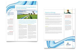Renewable Energy Consulting - Datasheet Template
