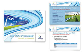 Renewable Energy Consulting - PowerPoint Presentation Template Design Sample