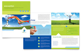 Green Living & Recycling - Brochure