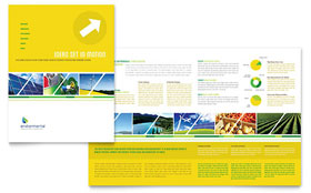 Environmental Conservation - Brochure Template Design Sample
