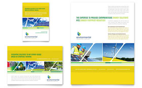 Environmental Conservation - Flyer & Ad Template Design Sample