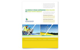 Environmental Conservation - Flyer