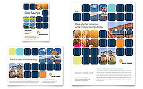 Solar Energy - Flyer & Ad Template