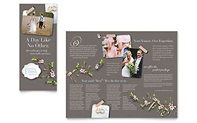 Wedding Planner - Brochure Template