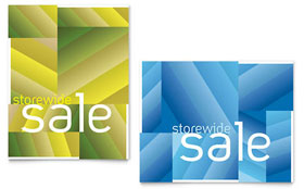 Storewide Clearance - Poster Sample Template