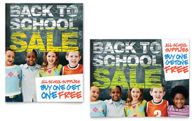 Back to School - Poster Template