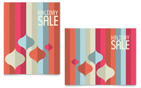 Modern Ornaments - Poster Sample Template