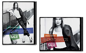 Labor Day Fashion - Sale Poster Template