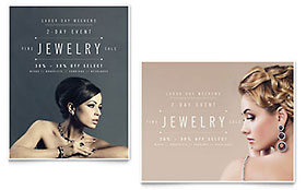 Fine Jewelry - Poster Sample Template
