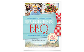 Summer BBQ - Flyer Template