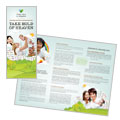 Foster Care & Adoption - Brochure Template Design Sample