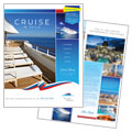 Cruise Travel - Brochure Template Design Sample